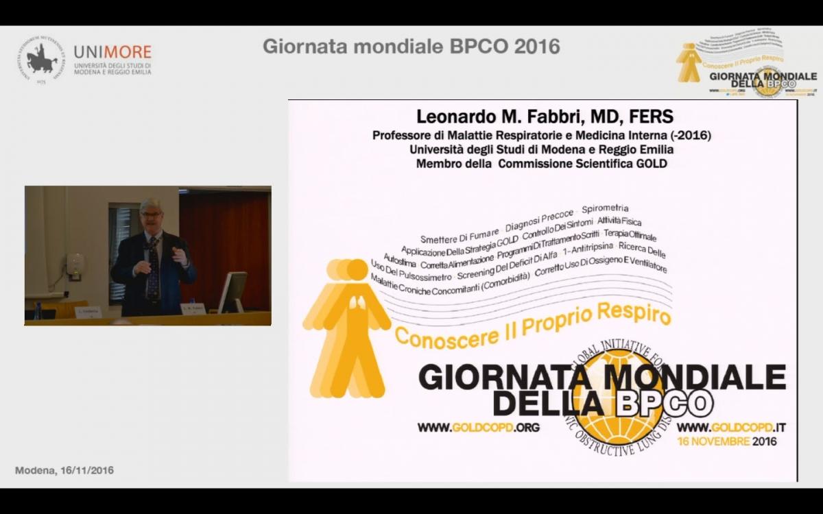 Giornata mondiale della BPCO 2016